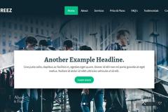 Aqua – Bootstrap Business Landing Page Template