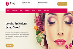 Beauty Salon Websites Template