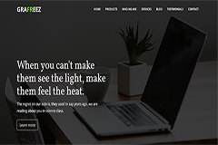 Buzz Bootstrap Business Template