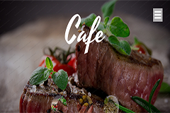 Cafe & Restaurant Free Website Template