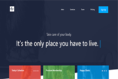 Cardio – Responsive One Page Multipurpose Bootstrap Template