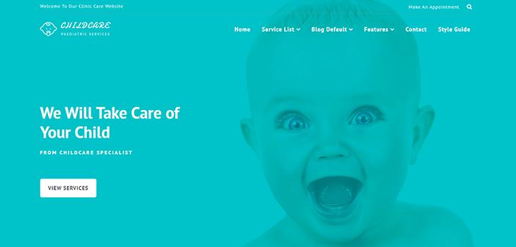 pediatrician responsive website template bootstrap themes. Black Bedroom Furniture Sets. Home Design Ideas