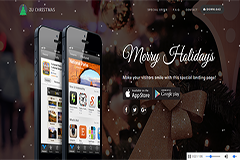 ZuChristmas – Free Landing Page