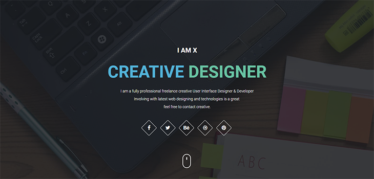 iamx bootstrap html resume template bootstrap themes
