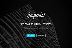 Imperial Free Onepage Bootstrap Theme