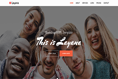Layana Free Bootstrap HTML Template
