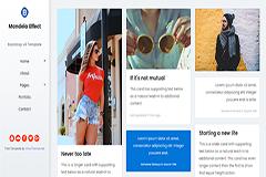 Mandela Bootstrap Free HTML Template
