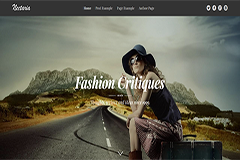 Nectaria Free Bootstrap HTML Template