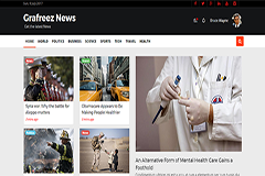 River – Free Bootstrap Template for News