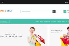 Orani – Bootstrap ECommerce HTML5 Template