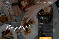 Savory Restaurant HTML Template