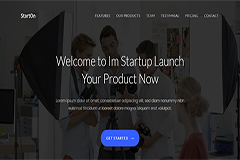 StartOn – Free Bootstrap Startup Template