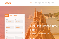 Travel Free HTML5 Bootstrap Template