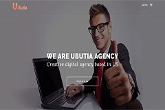 Ubutia Bootstrap HTML5 Template