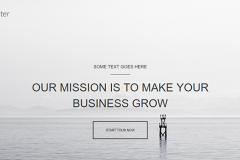 Wooster – Free Bootstrap Onepage Theme